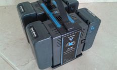 Hawk Woods VL 4 X 4 V ~ lock 4 channel simultaneous battery charger and 4 batteries