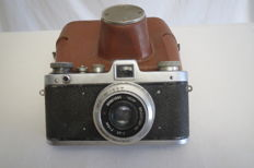 "Exclusive!!  Rare camera ""Zarya"".  The release of just two years. USSR 1959-1961 FED (Kharkov)."