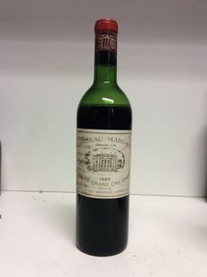 1967 Chateau Margaux, Premier Grand Cru Classe Margaux, France , 1 bottle 0,75l