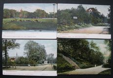 Bloemendaal, the Netherlands-120 different old postcards
