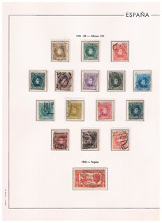 Spain 1900/1950 - Advance collection of the first centenary