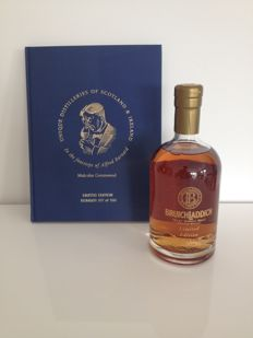 Bruichladdich Malcolm Greenwood Limited Edition 15 years old & book - OB