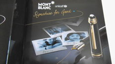 Montblanc Meisterstuck classic M145 fountain pen signatura for good unicef