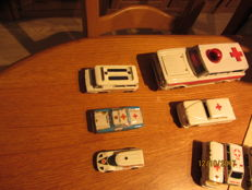 22x cars, Red Cross cars