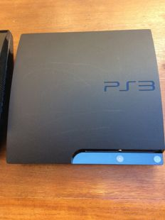 2x Sony PlayStation 3 console Black 60GB and  120GB slim to work with extras that are attached in photography