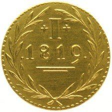 The Netherlands - Bleyenstein Duit (Re-strike in gold)