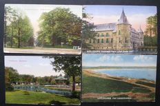Apeldoorn, the Netherlands-112 old postcards (all different)