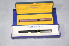 Two Waterman vintage fountain pens