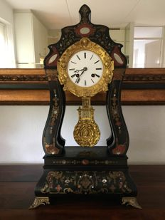 French portico clock 'Vicenti et Cie 1831/1855'