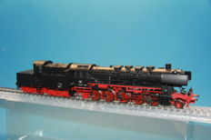 Märklin H0 - 37842 - Steam locomotive with cabin tender BR 50 of the Deutsche Bundesbahn, with Telex, Eurotrain version
