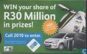 Win your share of R30 Million