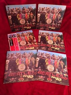 The Beatles Sgt. Peppers Lonely Hearts Club Band Vinyl LP's