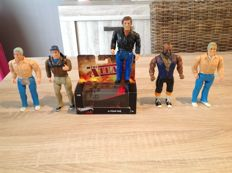 The a-team / cannel prod. Galoob 15 cm and Hotwheels 1:50 Elite one
