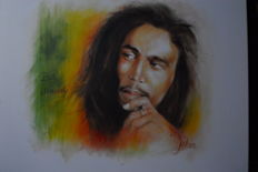 Bob Marley by Johannes Eekhout , signed by the artist - 2010