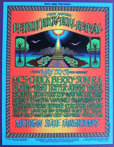 Summer of Love psychedelic Festival Poster 1969