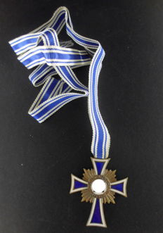 Cross of honor of the German mother in bronze  Third Reich