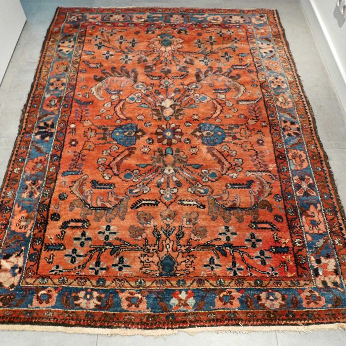 Unique semi-antique Lilehan Sarouk Persian rug - 185 x 142 - Amazing appearance - unique opportunity!