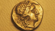 Ancient Greece - Thessaly - Thessalonian League, Drachm, 196-146 BC