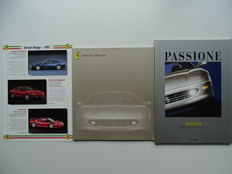 "1997 - 2000 - FERRARI ""456"" / ""456M"" GT & GTA - Mixed lot of 3 sales brochures & limited edition magazine"