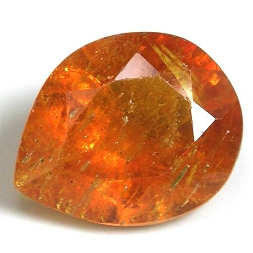 Clinohumite: Orange, 1.82 ct