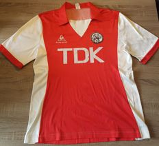 Unique original and official Ajax home shirt from the season 1982-1984
