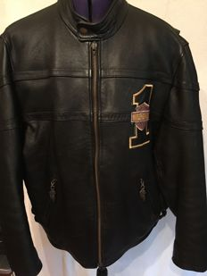 Beautiful leather Harley Davidson anniversary motorcycle jacket - 2003
