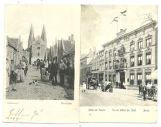 Collection of postcards consisting of Dutch villages and towns 82x