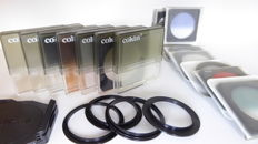 7 Cokin effect filters, 8 Spectralstar effect filters, 4 Cokin rings and Cokin holder with cap