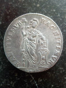 West Friesland – 3 guilder 1763 Generality – silver
