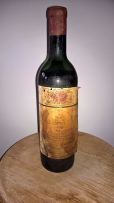 1956 Chateau Mouton Rothschild, Pauillac 2eme Grand Cru Classé - 1 bottle