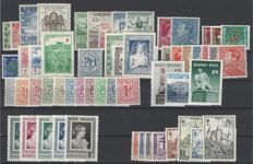 Belgium - Complete years 1950 and 1951 with Block 29 - OBP nos. 823 to 875