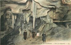 France - Grottes de Bétharram - French Department of Pyrenees-Atlantiques 64 - Lot of 38 old postcards with some nice animations