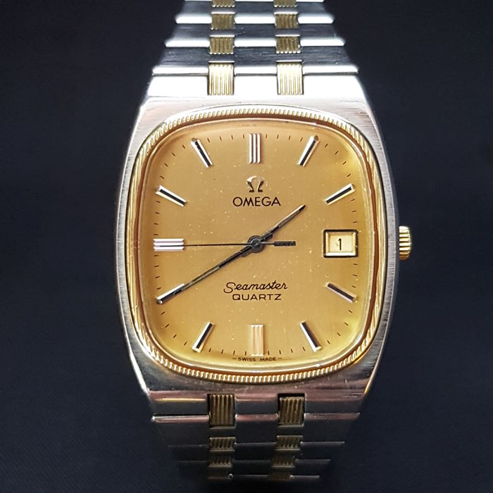 Omega - Seamaster Gold-Steel Gentleman Wristwatch - Ref: 196.0136 / 396.0875  - Men - 1960-1969