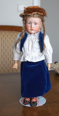 "Very Rare Size 30 Antique Kammer & Reinhardt 114 "" Gretchen"" Bisque Doll"