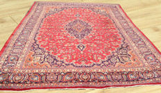 Persian Kashan Hand Knotted Semi Antique Large Area Rug 394 cm x 298 cm