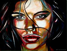 Antoine Liesens - She lives in an abstract world