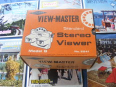 View-master + 34 discs in mint condition