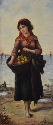 G Lenz. (19th century) The Apple Maiden