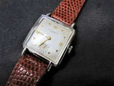 Baume & Mercier - Hampton - square-shaped unisex wristwatch from the 1950s/60s