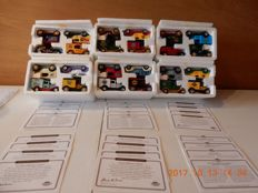Matchbox American Micro Breweries Collection - Schaal approx. 1/55 - Lot with 24 models: complete series of 24 models and 2 show displays