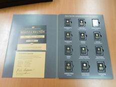 Germany/World - 2 sets of gold and silver coins and medals in gift packaging