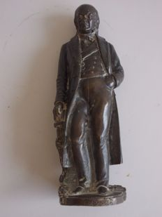 Bronze sculpture signed by the artist - Italy