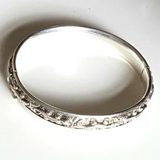 Gorgeous silver bracelet, marked, 2nd grade, maker CdG