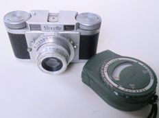 BRAUN PAXETTE 35 mm camera with a Prontor-S lens and light meter Zeiss