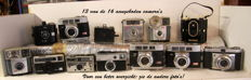 18 analogue cameras