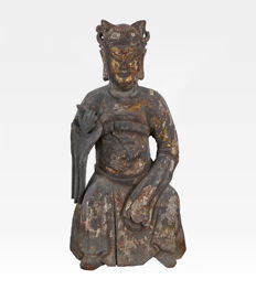 Big sculpture (49 cm) - China - 17th century