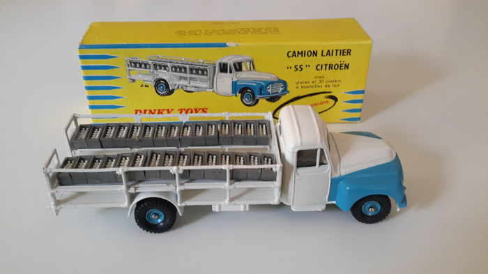 dinky toys france scale 1 48 camion laitier 55 citro n very rare catawiki. Black Bedroom Furniture Sets. Home Design Ideas