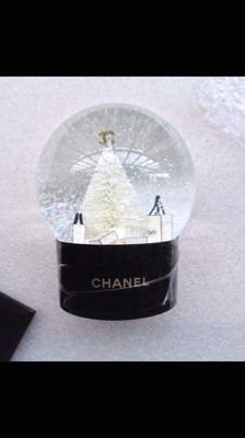 Chanel snow globe dome very rare