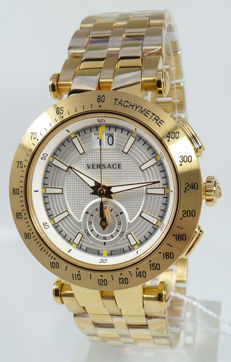 Versace Watch - V-Race Sport - Men's - Chrono - Swiss Made - New - original packaging - original price: €1,990