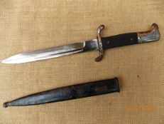 Third-Reich German fireman knife